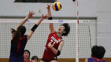 バレーボールアジア女子選手権6日目:日本は中国に惜敗。準決勝は韓国と対戦