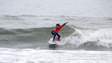 Teenager surfing sensation firmly focused on Tokyo 2020