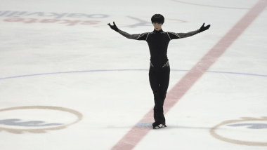 WATCH: Yuzuru Hanyu practises his free skate at the Autumn Classic