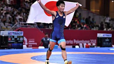 【レスリング】世界選手権カザフスタン大会2日目 グレコローマン63キロ級の太田忍が金メダル!