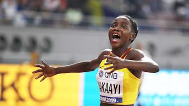 El increíble viaje de Halimah Nakaayi al título mundial de 800m