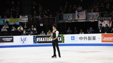 Nathan Chen rockets into lead at 2019 Skate America in Las Vegas
