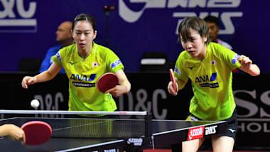 【卓球】女子W杯2日目|石川佳純、平野美宇ともに上位進出ならず