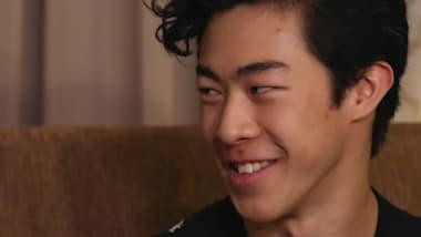 EXCLUSIVA: El campeón de Skate America Nathan Chen habla con Meryl Davis