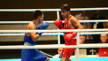India's Shiva Thapa packs a punch ahead of the Games