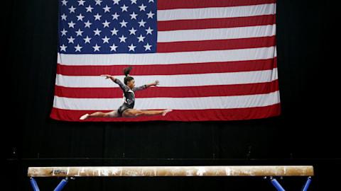 Simone Biles set for historic fifth U.S. Gymnastics title