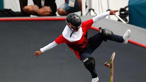 Meet Asian Games' 12-year-old skateboard star