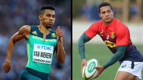 Wayde van Niekerk's cousin set for Springbok rugby debut