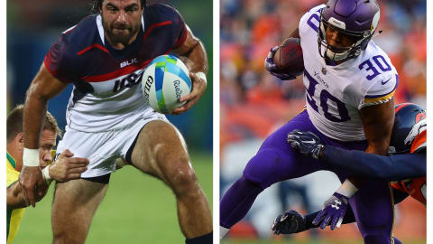 How does rugby 7s compareto its distant cousin American football?