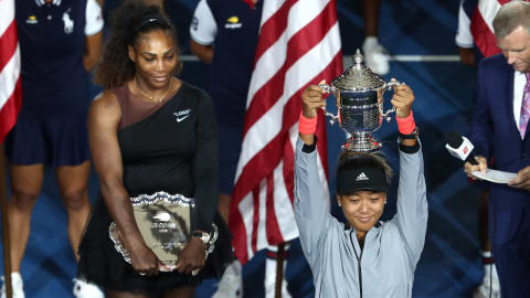 Naomi Osaka makes history with US Open win
