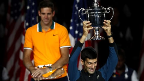 Novak Djokovic inspired by opposition fan chants on way to US Open victory