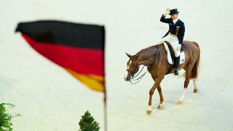 Olympic queen Isabell Werth secures double gold on miracle horse Bella Rose