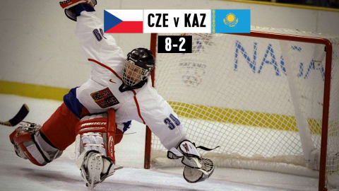 CZE v KAZ, Men's Ice Hockey (Group D) | Nagano 1998 Replays