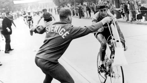 La volata esaltante nel ciclismo su strada ai Giochi di Tokyo 1964