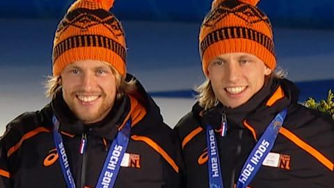 Gêmeos trocam patins de gelo pelos de rodas por mais uma glória Olímpica