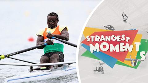 Les aventures d'Issaka en aviron déchaînent l'imagination à Londres 2012