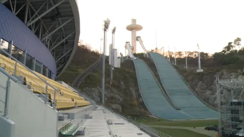 Die Veranstaltungsorte von PyeongChang 2018 öffnen ihre Türen