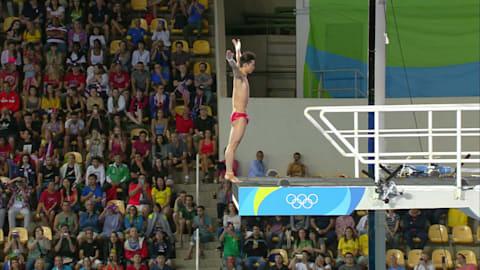 Chen gana el oro en clavados 10 metros plataforma masculino