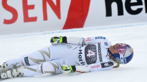 Injured Vonn withdraws from world cup event two months before the Olympics