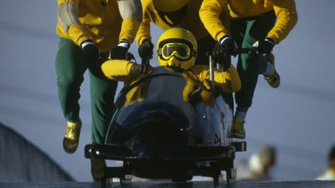 Throwback: The Jamaican bobsleigh team and the birth of 'Cool Runnings'(IT)