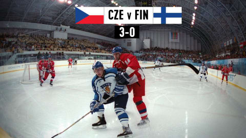 CZE v FIN, Men's Ice Hockey (Group D) | Nagano 1998 Replays