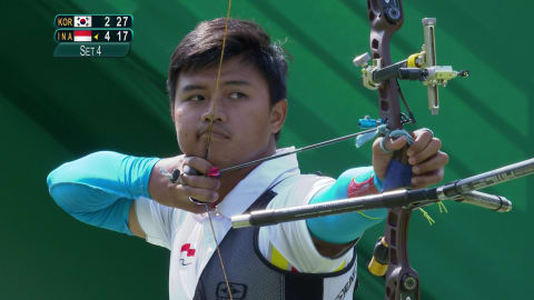 Archery upset sees favourite out