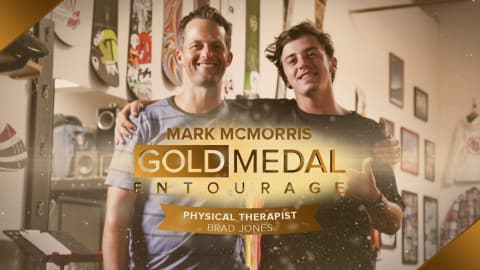 Fixing a crunch time injury: Snowboarder Mark McMorris ft. Physio Brad Jones