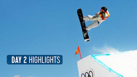 Day 2 Highlights | Pyeongchang 2018