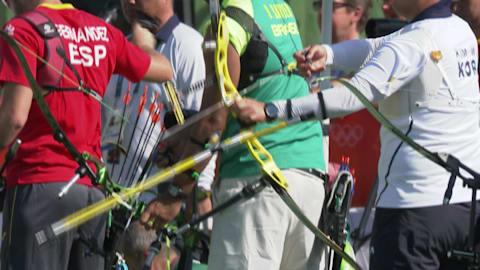 Woojin Kim quiebra el récord mundial de tiro con arco en Río