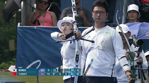 Corea del Sur domina en el evento del recurvo de la Copa del Mundo