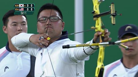 La República de Corea se queda con el oro en tiro con arco