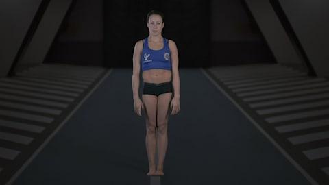 Anatomía de un gimnasta: ¿Es Ferrari la atleta más flexible del mundo?