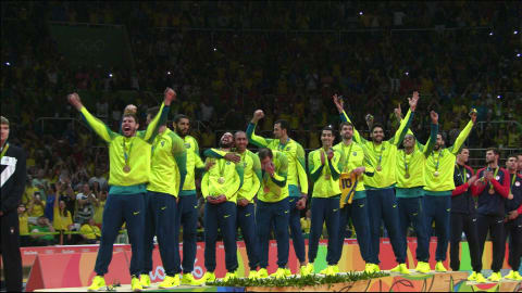 ITA vs BRA, Men's Volleyball Gold Match | Rio 2016 Replays