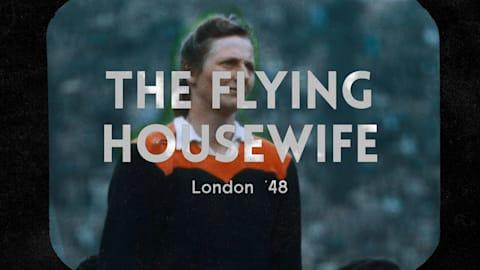 لندن 1948 - ربة منزل تحطم الصور النمطية