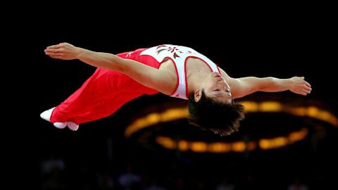 The beauty of Trampoline Gymnastics