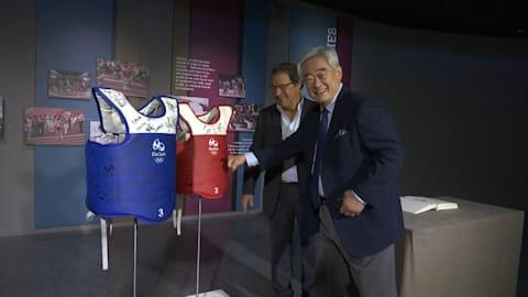 إهداء معدات التايكوندو في ريو 2016 للمتحف الأولمبي