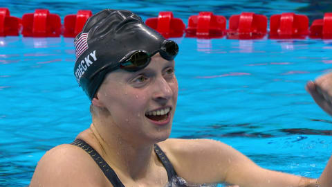 Swimming: Semi-finals and Finals - Day Four   Rio 2016 Replays