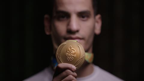 ميدالية أولمبية تجعل من الأردني أبو غوش أيقونة
