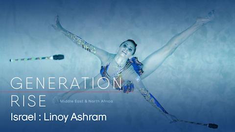 Conoce a la primera gimnasta israelí en ganar un oro en el Grand Prix Final