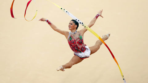 The beauty of Rhythmic Gymnastics