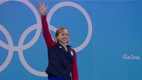 Swimming: Semi-finals and Finals - Day Seven   Rio 2016 Replays