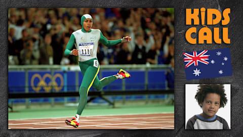 Cathy Freeman's 400m victory at Sydney 2000