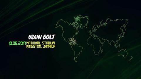 La última carrera de Bolt en Jamaica
