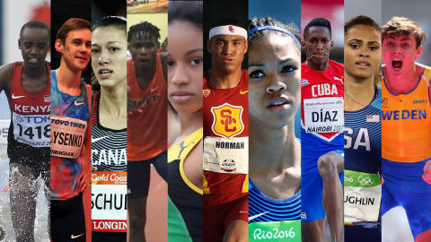 Ten athletes to watch during the 2018 track & field season