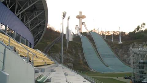평창 2018 경기장, 국제 미디어에 모습 공개