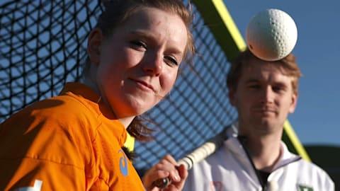 Sports Swap: пинг-понг против хоккея на траве с Эрланд и Таррантом