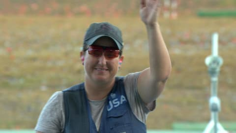 Shooter Rhode wins medals in six successive Games