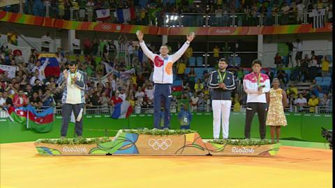 Men's Judo -100kg | Rio 2016 Replays