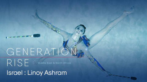 Meet the first Israeli rhythmic gymnast to win gold at the Grand Prix Final