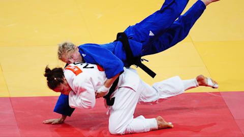 The beauty of Women's Judo